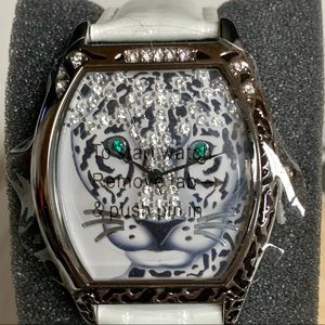LIMITED ED RARE JAGUAR COUTURE WATCH BY ADRIENNE